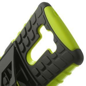 Outdoor odolný obal na mobil LG G3 - zelený - 4