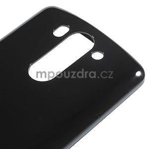 Čierny gélový kryt pre LG G3 s - 4