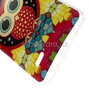 Gélový kryt pre LG G3 s - hvezdná sova - 4