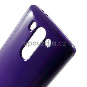 Odolný gélový obal na LG G3 s - fialový - 4