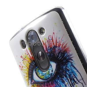 Gélový obal pre LG G3 s - oko barev - 4