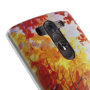 Ultra slim 0.6 mm gélový obal LG G3 s - jesenné precházka - 4