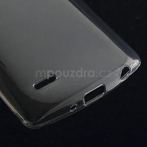 sivý ochranný gélový kryt LG G3 s - 4
