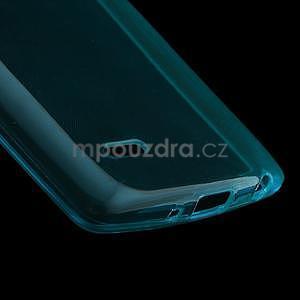 Modrý ochranný gélový kryt LG G3 s - 4