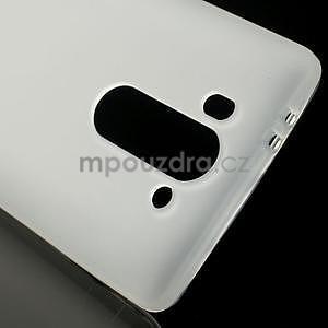 Transparentní matný gélový kryt LG G3 s - 4