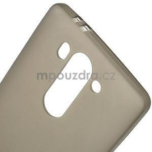 sivý matný gélový kryt LG G3 s - 4