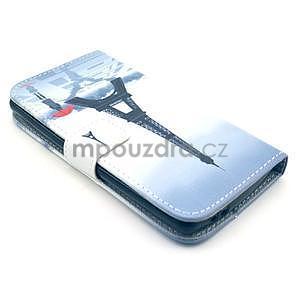 Peňaženkové puzdro na LG G3 s -  Eiffelova veža - 4