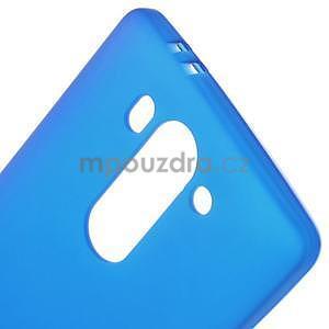 Modrý matný gélový kryt LG G3 s - 4