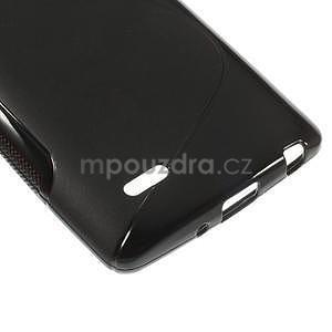 S-line čierny gélový obal pre LG G3 s - 4