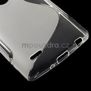 S-line transparentný gélový obal na LG G3 s - 4