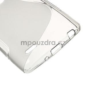 S-line sivý gélový obal pre LG G3 s - 4