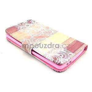 Peňaženkové puzdro na LG G3 s - mandala - 4