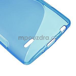 S-line modrý gélový obal pre LG G3 s - 4