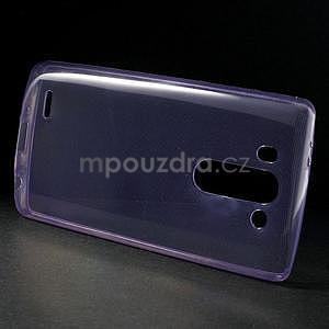 Ultra tenký slimový obal LG G3 s - fialový - 4