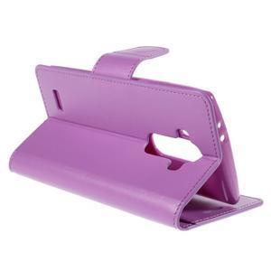 Sonata peněženkové pouzdro na LG G4 - fialové - 4