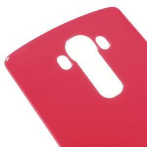 Lesklý gelový obal na LG G4 - rose - 4