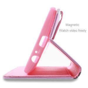 Call peněženkové pouzdro na LG G4 - kvetoucí větvička - 4
