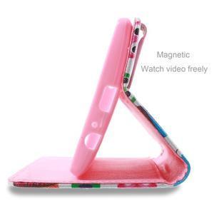 Call peňaženkové puzdro pre LG G4 - malej sovy - 4