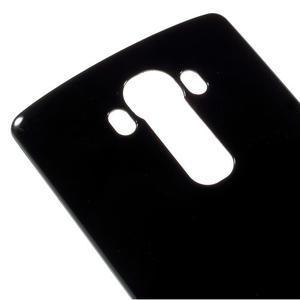 Lesklý gélový obal pre LG G4 - čierny - 4