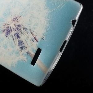 Softy gélový obal pre mobil LG G4 - púpava - 4