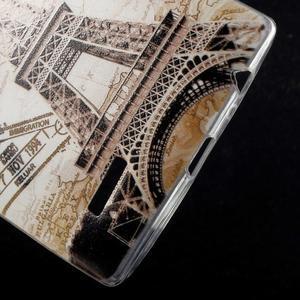 Softy gelový obal na mobil LG G4 - Eiffelova věž - 4