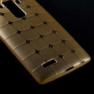 Square gelový obal na LG G4 - champagne - 4