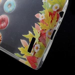 Softy gélový obal pre mobil LG G4 - donuts - 4