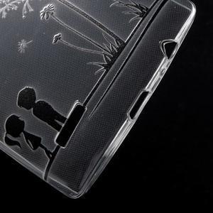 Softy gélový obal pre mobil LG G4 - zamilovaný pár - 4