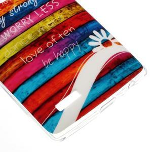 Jells gélový obal pre mobil LG G4 - farby dreva - 4
