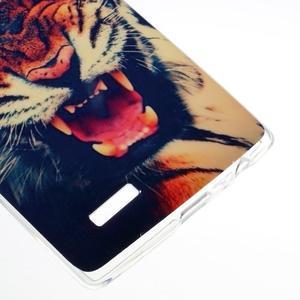 Jells gelový obal na mobil LG G4 - tygr - 4