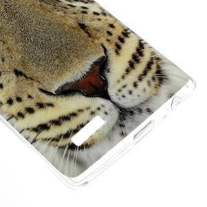 Jells gélový obal pre mobil LG G4 - leopard - 4