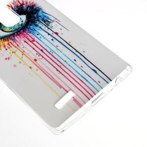 Jells gélový obal pre mobil LG G4 - farebné oko - 4