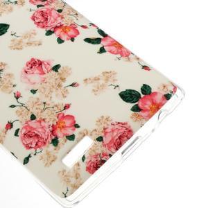 Jells gelový obal na mobil LG G4 - květiny - 4