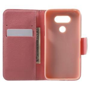Wall peňaženkové puzdro pre LG G5 - kouzelní motýľe - 4