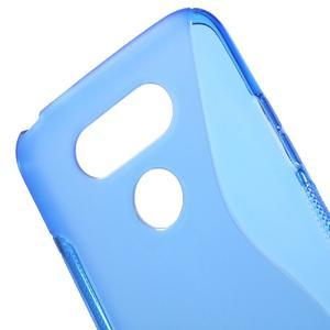 S-line gélový obal pre mobil LG G5 - modrý - 4