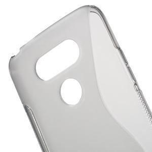 S-line gélový obal pre mobil LG G5 - sivý - 4