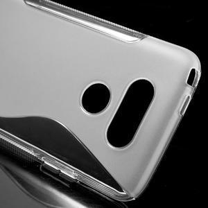 S-line gélový obal pre mobil LG G5 - transparentný - 4