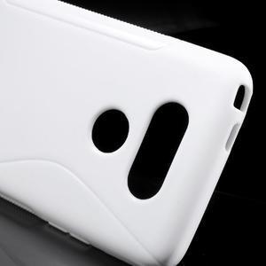S-line gélový obal pre mobil LG G5 - biely - 4