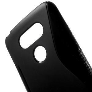 S-line gelový obal na mobil LG G5 - černý - 4