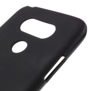 Matný gélový kryt pre mobil LG G5 - čierny - 4
