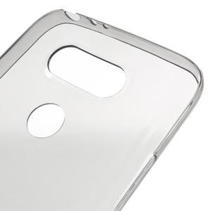 Ultrantenký slim gelový obal na LG G5 - šedý - 4