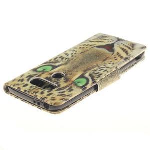 Obrázkové koženkové puzdro pre LG G5 - mačička - 4