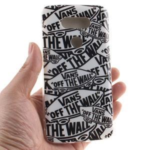 Softy gélový obal pre mobil LG G5 - slova - 4