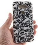 Softy gélový obal pre mobil LG G5 - slova - 4/5