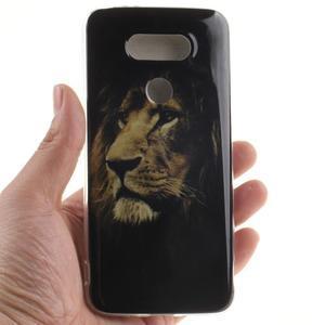 Softy gelový obal na mobil LG G5 - lev - 4