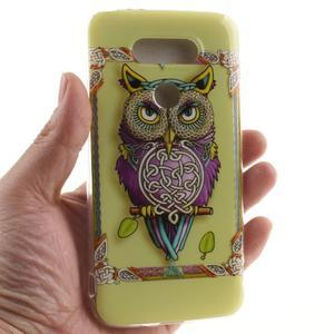 Softy gelový obal na mobil LG G5 - sova - 4
