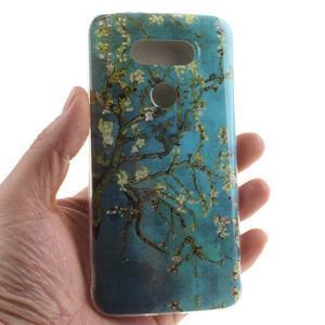 Softy gelový obal na mobil LG G5 - kvetoucí strom - 4