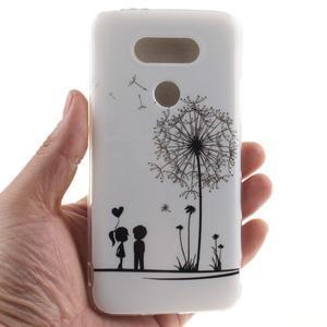 Softy gélový obal pre mobil LG G5 - láska - 4