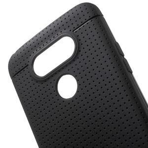 Rubby gelový kryt na LG G5 - černý - 4