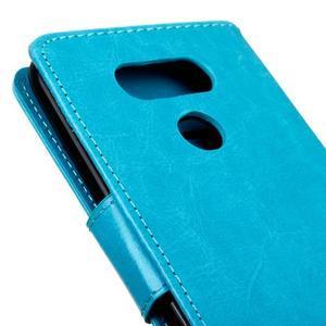 Lees peňaženkové puzdro pre LG G5 - modré - 4